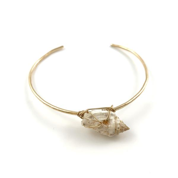 Skinny Cuff with Shell