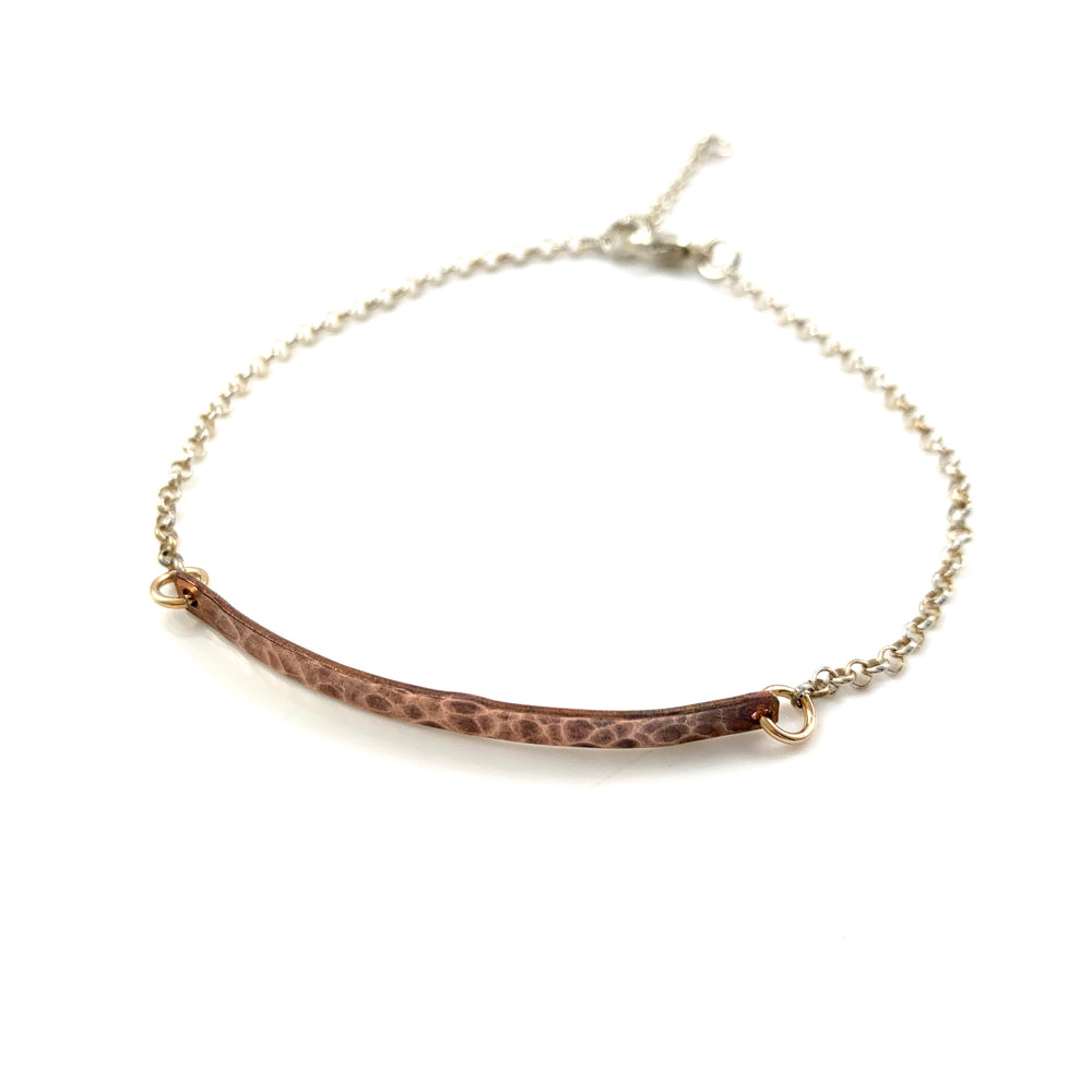 Copper Bar Bracelet