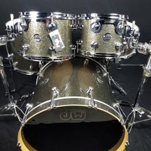 Load image into Gallery viewer, DW Performance Series Pewter Sparkle 10/12/16/22/ - No Snare