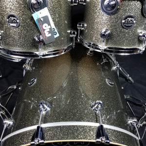 DW Performance Series Pewter Sparkle 10/12/16/22/ - No Snare
