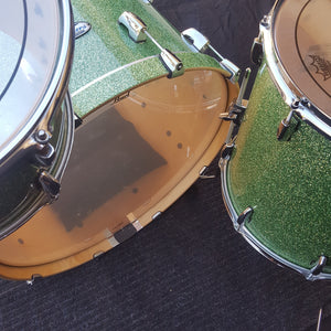 Pearl Masters Complete 3-piece Shell Pack - Absinthe Green Sparkle