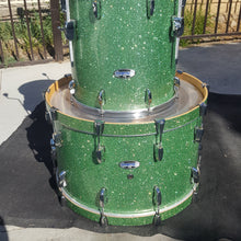 Load image into Gallery viewer, Pearl Masters Complete 3-piece Shell Pack - Absinthe Green Sparkle