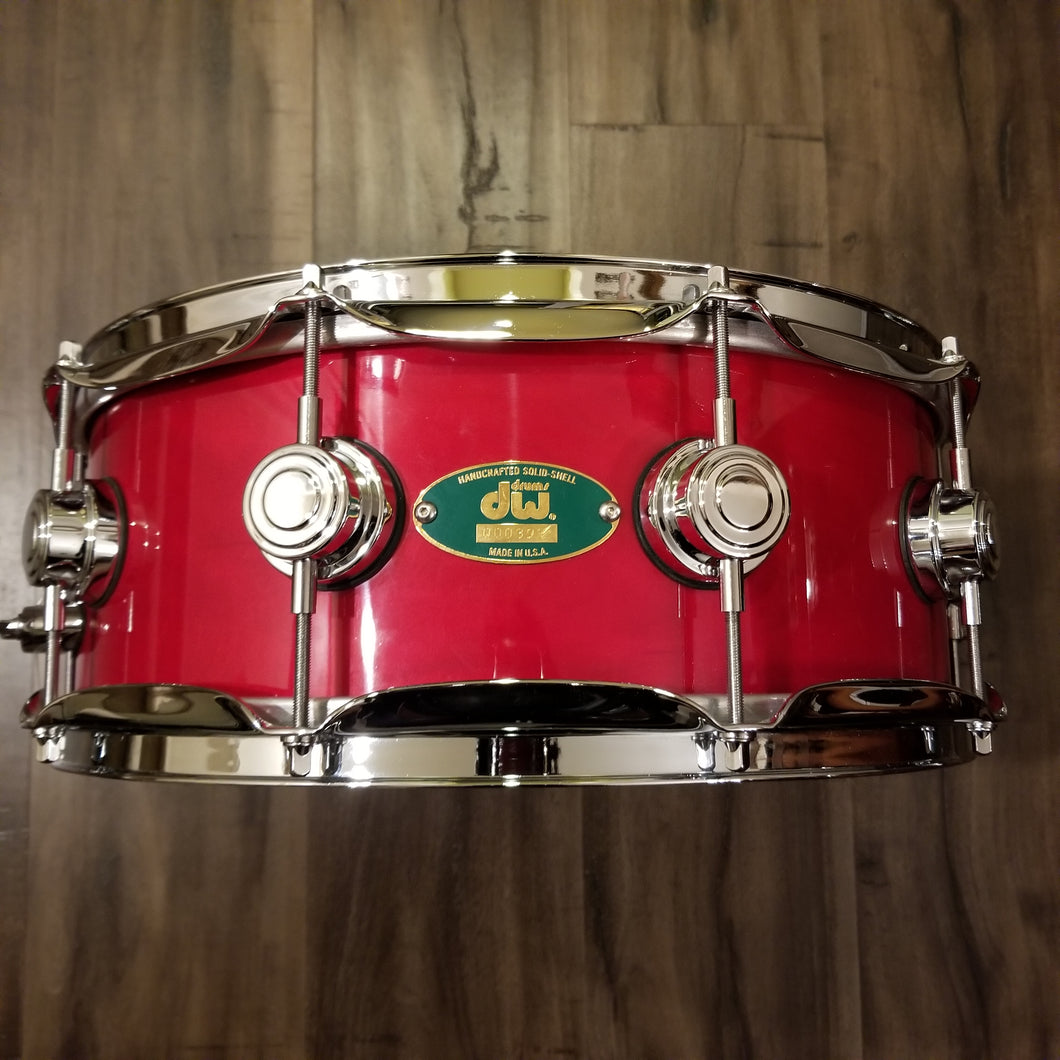 VERY RARE - DW Craviotto Solid Shell Maple Snare 14