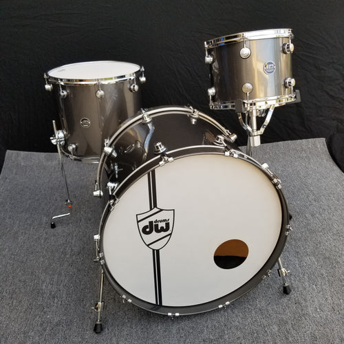 DW Performance 3 Piece - Gun Metal Metallic Lacquer - 12/16/24