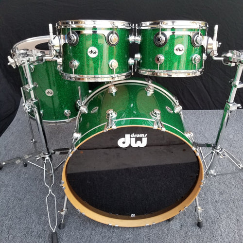 DW Collector's 4 Piece - Green Glass - 12/13/16/24