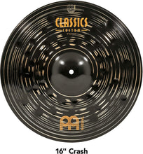 "Load image into Gallery viewer, Meinl Cymbals Classics Custom Dark Cymbal Box Set with Free 18"" Crash"