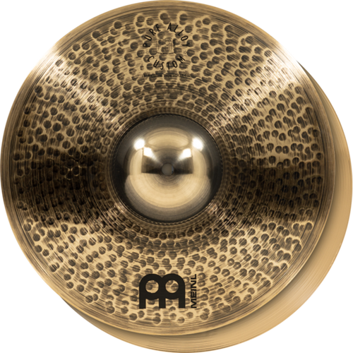 Meinl Pure Alloy Custom Medium Thin Hi Hat Cymbals - 15