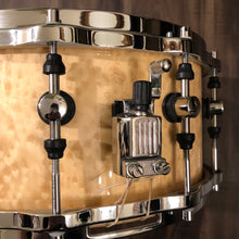 "Load image into Gallery viewer, Sonor Designer Series Snare 14"" x 6.5"". Maple Light Shell"
