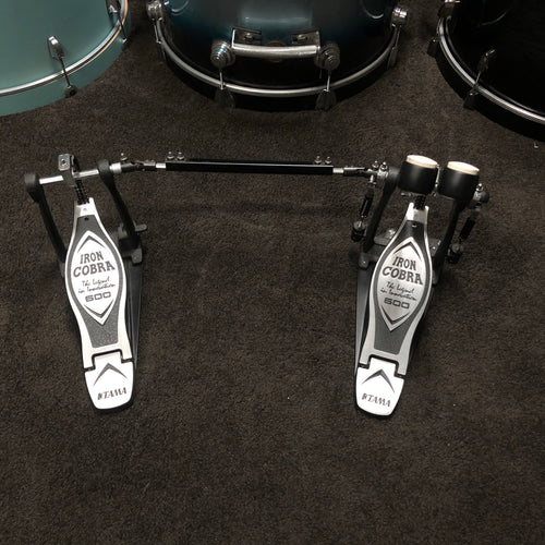 TAMA Iron Cobra 600 Double Bass Drum Pedal - HP600DTW