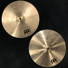 "Load image into Gallery viewer, Meinl 15"" Pure Alloy Custom Medium Hi Hat Cymbals"