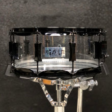 "Load image into Gallery viewer, Pork Pie Pig Lite Snare Drum - Acrylic - 14"" x 6"""