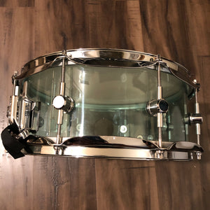 Spaun Acrylic Vented Snare Drum Coke Bottle 13 x 5.5 in.