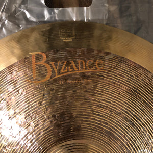"Meinl 22"" Byzance Tradition Jazz Ride"