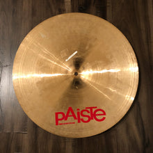 "Load image into Gallery viewer, Paiste 18"" 2002 Medium Crash Cymbal"