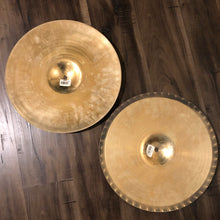 "Load image into Gallery viewer, Zildjian 15"" A Custom Mastersound Hi Hat Pair"