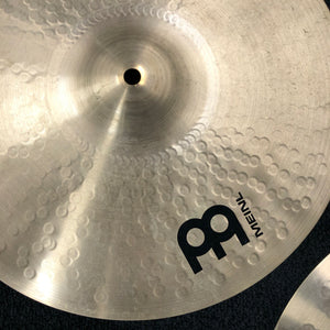 "Meinl 15"" Pure Alloy Custom Medium Hi Hat Cymbals"