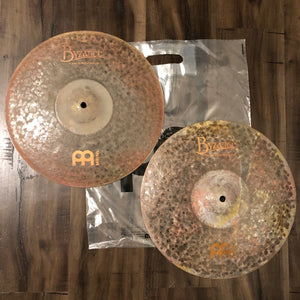 "Meinl 14"" Byzance Extra Dry Medium Hi Hat - NEW - FREE SHIPPING"