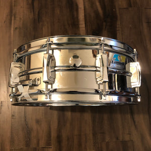 "1976 Ludwig Supraphonic Snare Drum - 14"" x 5"""