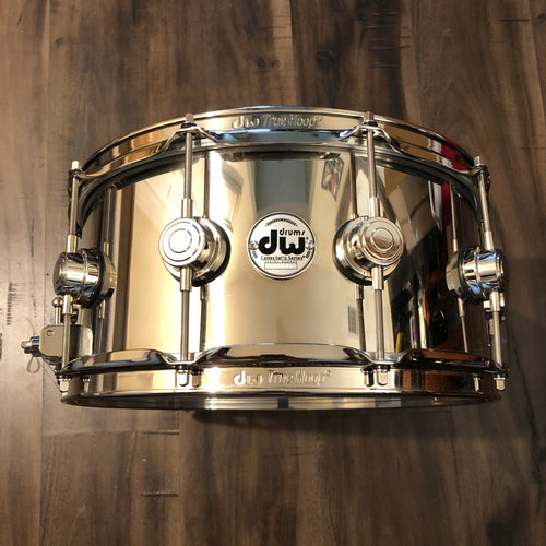 DW Collector's Series Stainless Steel Snare - 14