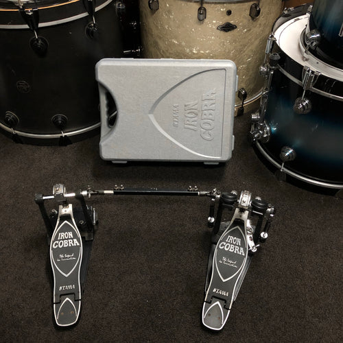 Tama HP900 Iron Cobra Rolling Glide Double Bass Drum Pedal W/ Case