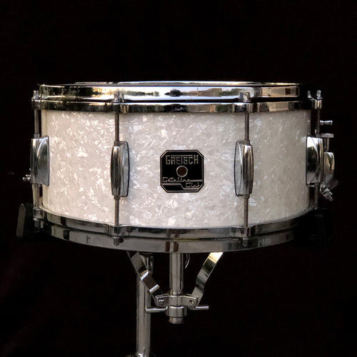 Gretsch Catalina Club Snare Drum - White Marine Pearl - 14