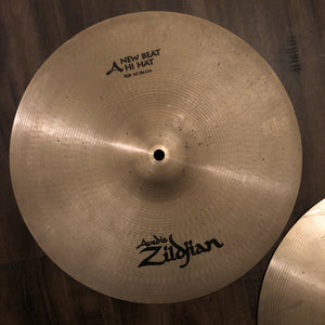 "Zildjian 14"" Avedis New Beat Hi Hat Pair"