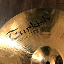 "Load image into Gallery viewer, Turkish Cymbals 18"" Rock Beat Series Thin Crash Cymbal"
