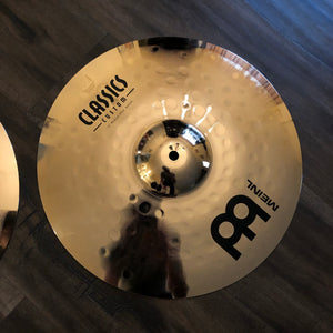 "Meinl 14"" Classics Custom Medium Hi Hats"