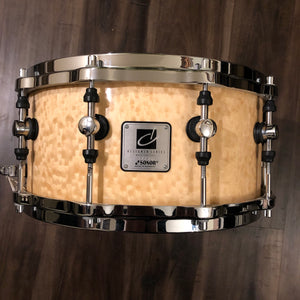 "Sonor Designer Series Snare 14"" x 6.5"". Maple Light Shell"