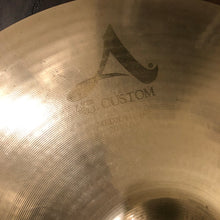 "Load image into Gallery viewer, Zildjian 20"" A Custom Medium Ride Cymbal"