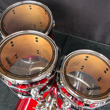 Load image into Gallery viewer, TAMA Silver Star Drum Set - Red Burst - 10/12/16/22