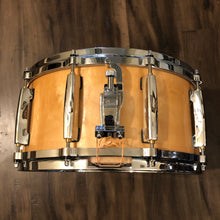 "Load image into Gallery viewer, Pearl Masters Maple Snare - Natural Lacquer - 14"" x 6.5"""