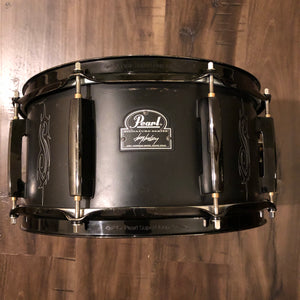 "Pearl Joey Jordison Signature Snare Drum - W/ Shure XL57 Internal May Miking System - 13"" x 6.5"""