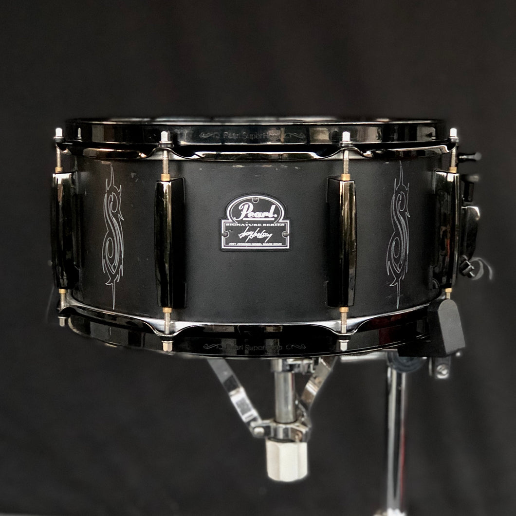Pearl Joey Jordison Signature Snare Drum - W/ Shure XL57 Internal May Miking System - 13