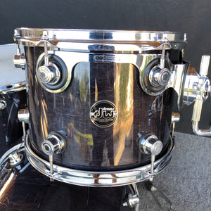 DW Performance 3 Piece - Ebony Stain Lacquer - 12/16/20