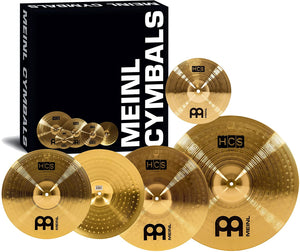 "Meinl HCS Cymbal set, 14""/16""/20"" FREE 10"" Splash - NEW"