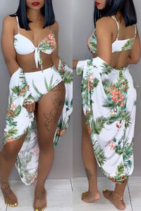 Pomiss Sexy Floral Printed Bikinis
