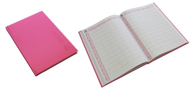 Agenda Hot Pink 6 Column Appointment Book - Franklins