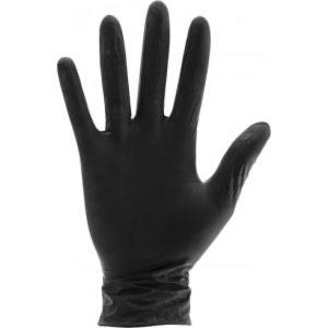 Aurelia Bold Nitrile Powder Free Black Gloves - Franklins