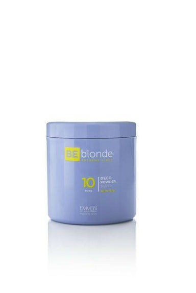 BE Blonde Extreme Light Silver With Plex Dust Free Bleach Powder 500g - Franklins
