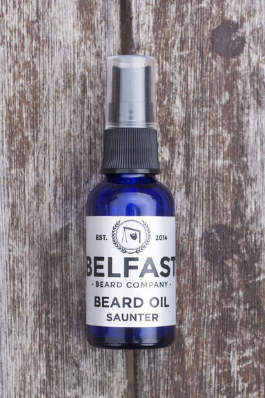 Belfast Beard Company Beard Oil 'Saunter' 30ml - Franklins