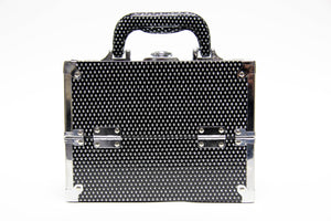 Black Glitter Cosmetics Beauty Case - Franklins