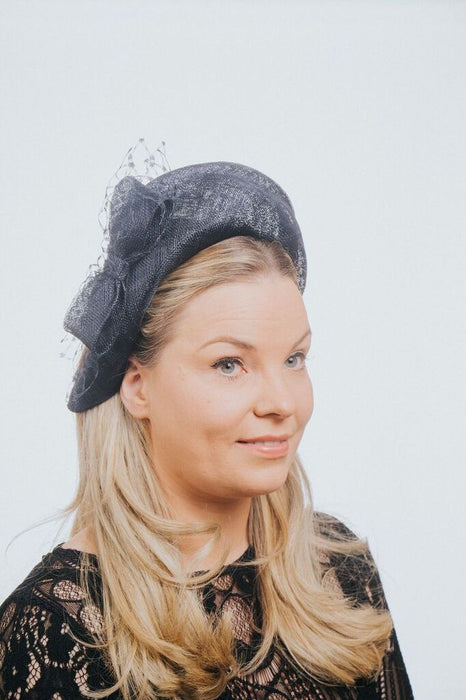 Bow Net Moulded Headband Fascinator - Franklins