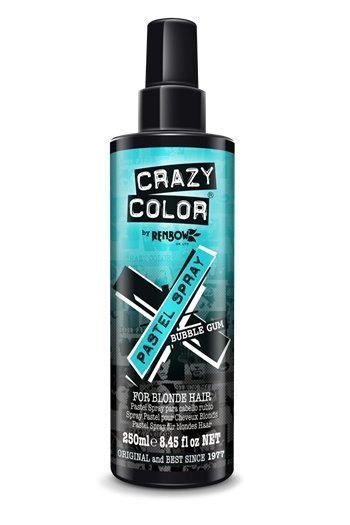 Crazy Color Bubblegum Pastel Spray 250ml - Franklins