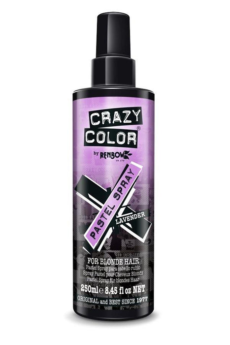 Crazy Color Lavender Pastel Spray 250ml - Franklins
