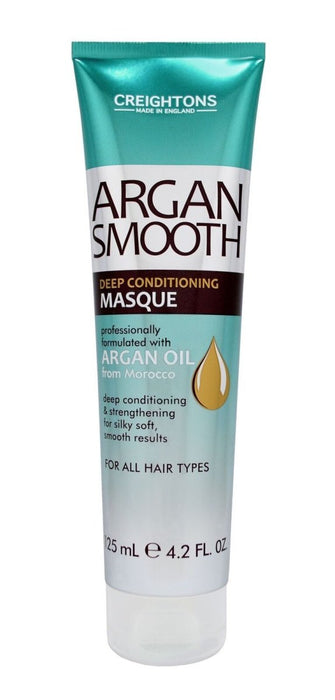 Creightons Argan Smooth Deep Conditioning Masque 125ml - Franklins