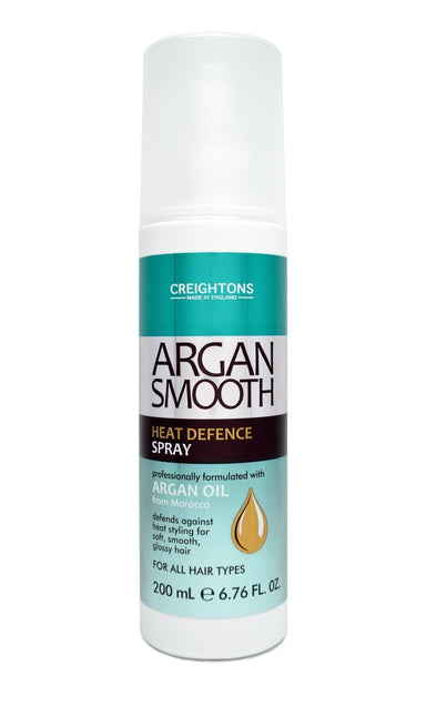 Creightons Argan Smooth Heat Defence Spray 200ml - Franklins