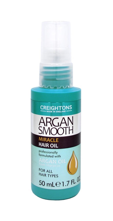 Creightons Argan Smooth Miracle Hair Oil 50ml - Franklins