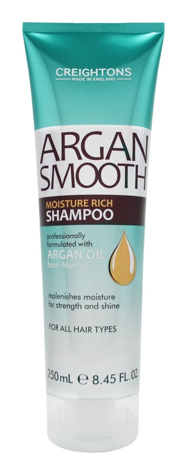 Creightons Argan Smooth Moisture Rich Shampoo 250ml - Franklins