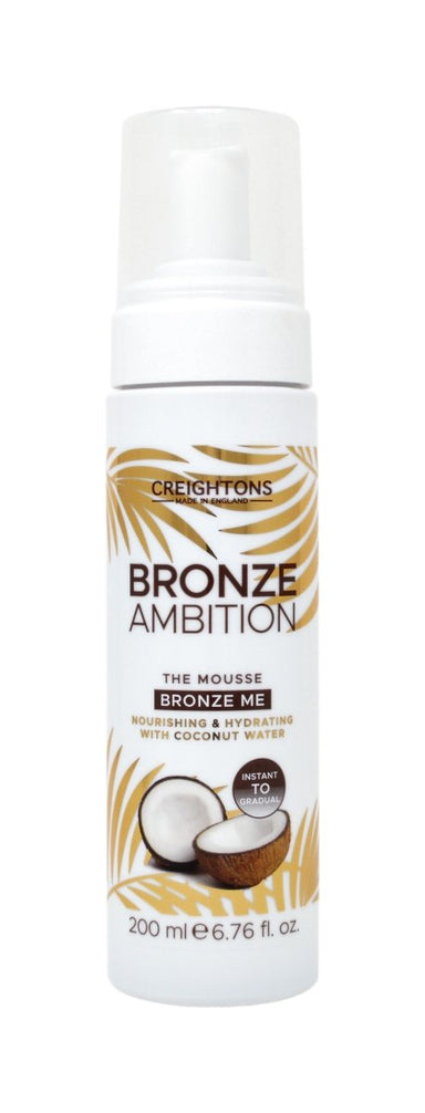 Creightons Bronze Ambition The Mousse Bronze Me 200ml - Franklins